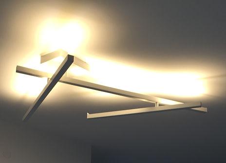 תאורה שנבחרה בהתאמה לדרישות וקונספט מודרני