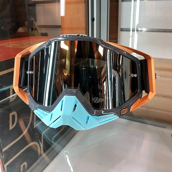 100% Racecraft Ergona Goggle Mirror Silver Lens