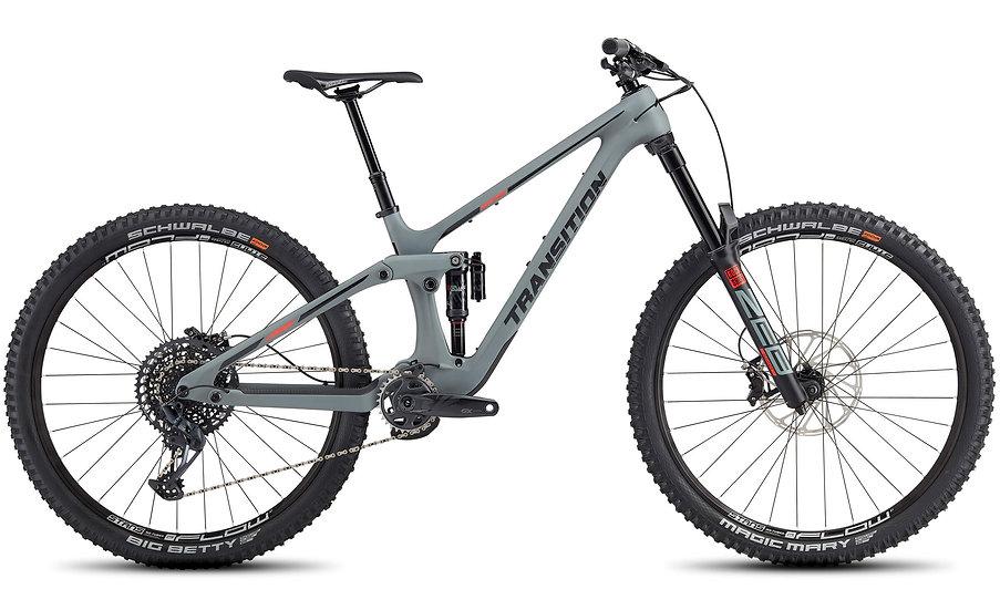 Transition Spire Carbon XT Primer Grey