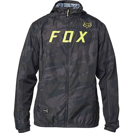 Fox Moth Camo Windbreaker Jacket