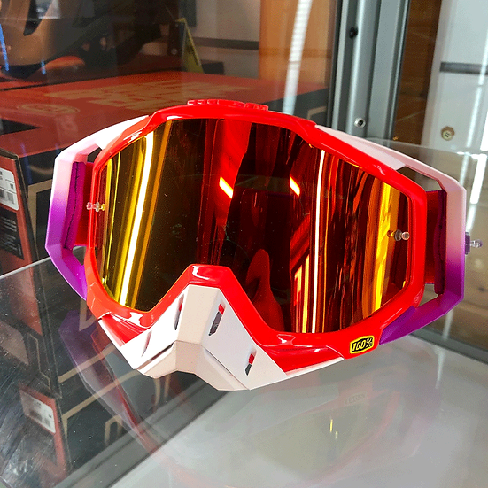 100% Racecraft Watermelon Goggle Clear Lens