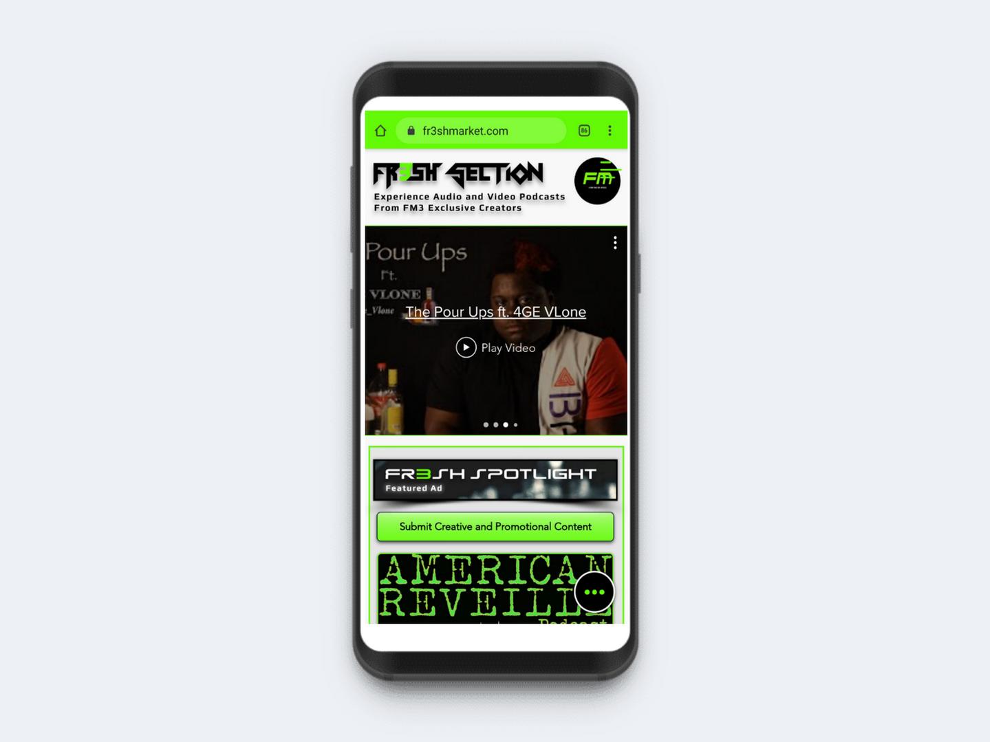 Fr3sh Feature