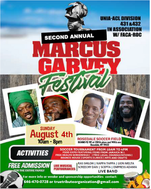 2nd Annual Marcus Garvey Festival
