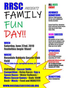 RRSC Family Fun Day 2019