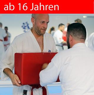 Karate kann man immer lernen, egal ob man 7 Jahre oder über 60 Jahre ist