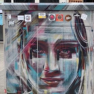 Belguim utility art