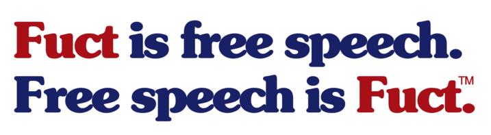FUCT Trademark; Free Speech