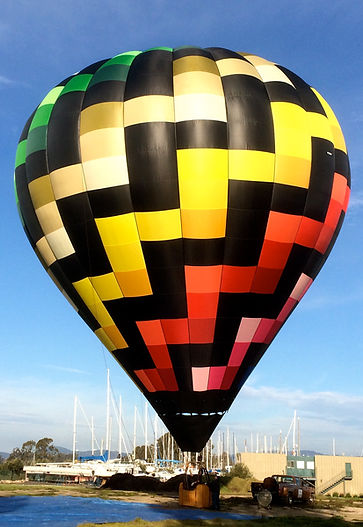 Napa Valley Drifters hot air balloon named Skywalker.  #Drifters  #HotAir