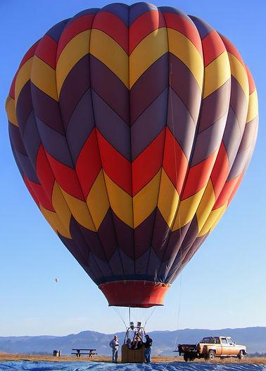 Napa Valley Drifter's hot air balloon named Wind Dancer.  #Drifters #HotAir