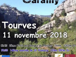 Trail des Gorges du Caramy 2018