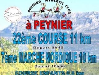 Courir à Peynier 2017