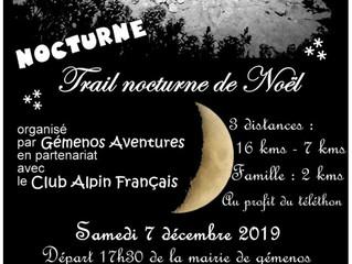 Trail nocturne de Gemenos 2019
