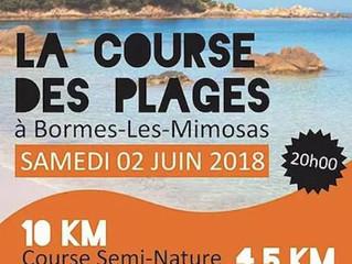 10 km des plages 2018