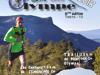 Trail du mont olympe 2018