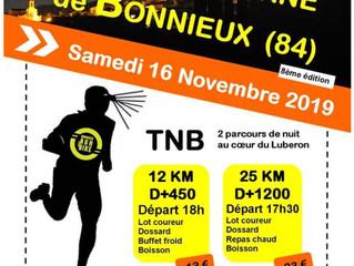 Trail Nocturne de Bonnieux 2019