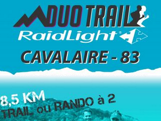Duo Trail Cavalaire 2019