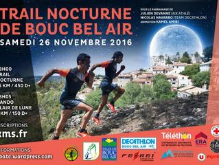 Trail Nocturne de Bouc Bel Air