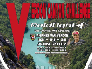 Verdon Canyon Challenge 2017