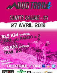 Duo Trail de la Sainte Baume 2019