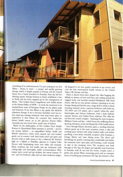 Luxury Travel Magazine article 2nd page