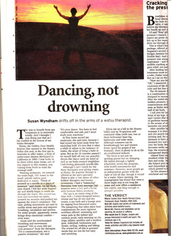 Dancing Not Drowning