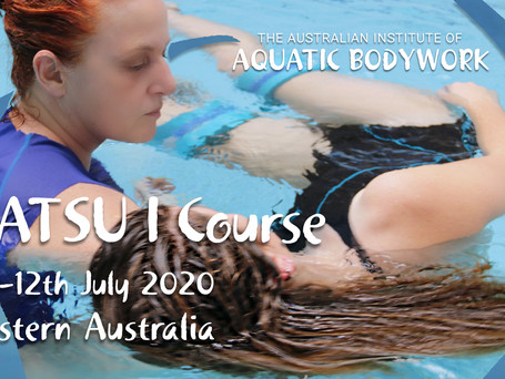 What's on this year at The Australian Institute of Aquatic Bodywork