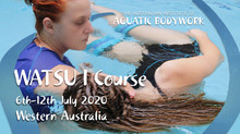 What's on this year with The Australian Institute of Aquatic Bodywork