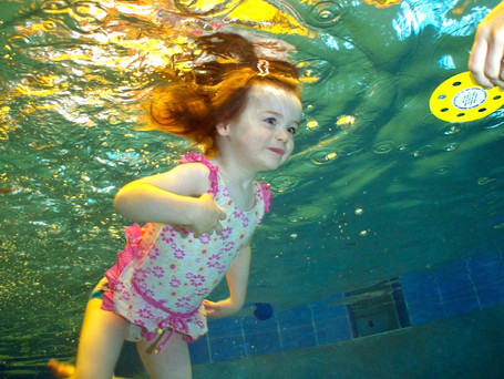 A study finds that infants experience significant heart rate decreases while participating in a swim