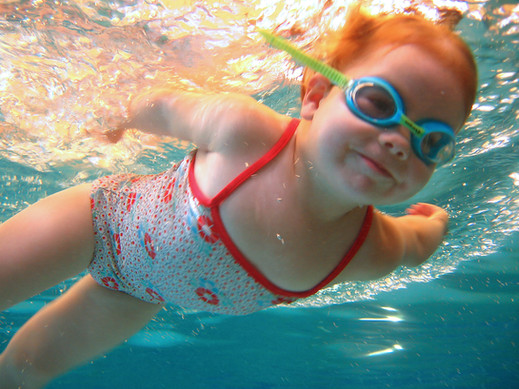Aquanat swimming classes water baby unde