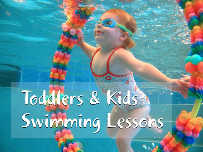 Aquanat toddlers kids swimming lessons P