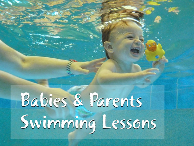 Aqaunat Babies and Parents Swimming Lessons Page Image