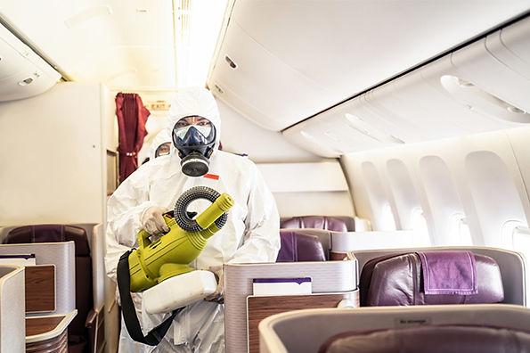 öel uçak ve jet dezenfeksiyonu firması e