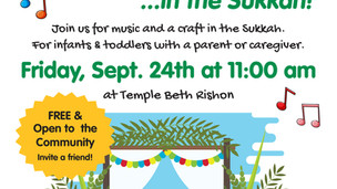 9/24 Playgroupies in the Sukkah - FREE Toddler and Infant Event