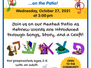10/27 Musical Book Club for Tots - FREE Preschool-Age Event