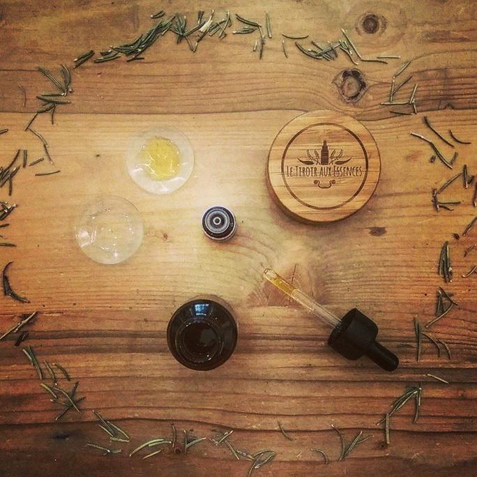 CHEVEUX - Elixir aromatique FORCE & SANTE