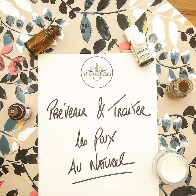 AROMA - Alternative naturelle anti-poux (préventif & curatif)
