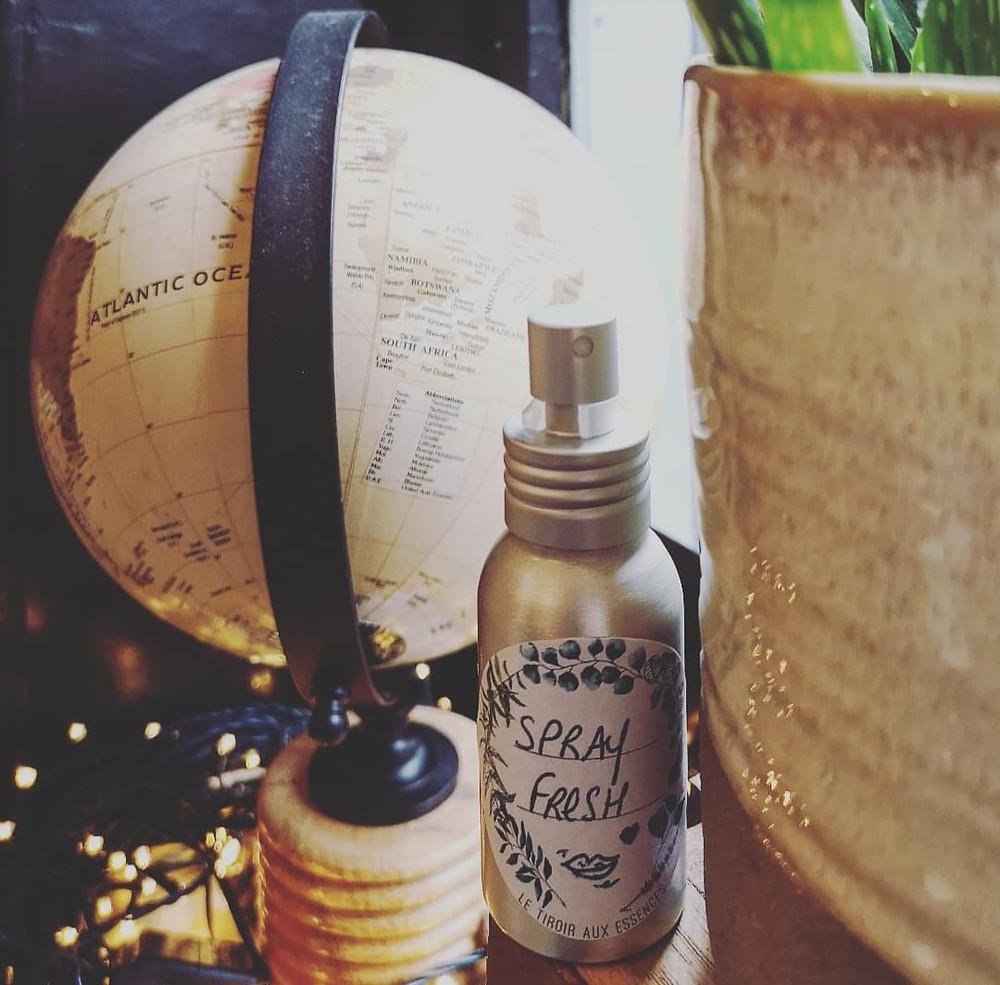 HYGIENE - Spray Haleine Fraîche à la Menthe verte & à la Menthe poivrée LE TIROIR AUX ESSENCES INES