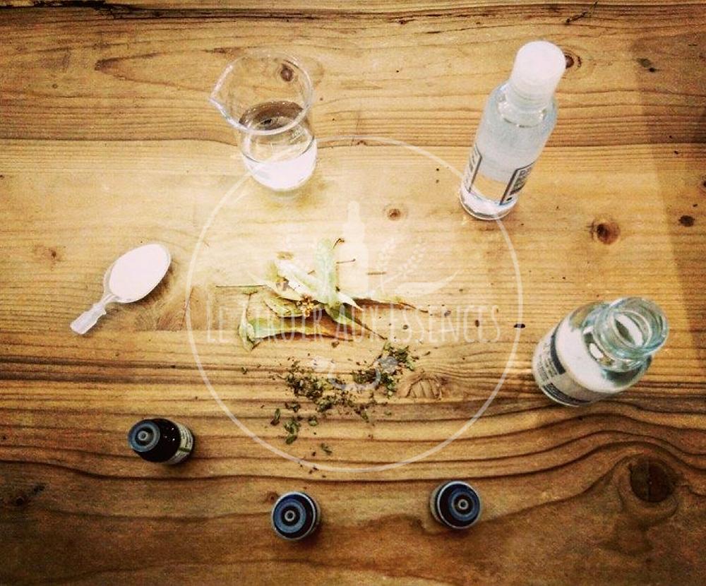 DIY Le Tiroir aux Essences Gel hydro-alcoolique aux Huiles Essentielles
