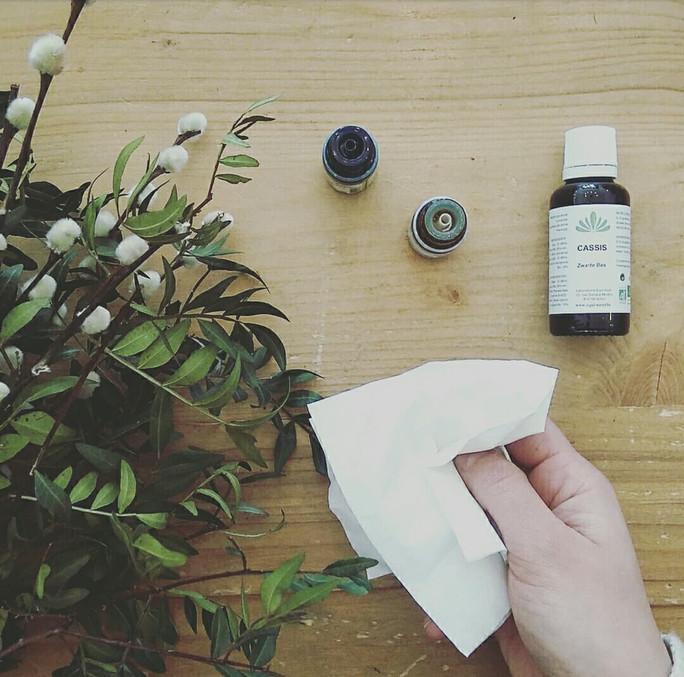 Programme AROMA/PHYTO/GEMMO - Allergies (pollens, rhinite allergique, rhume des foins...)