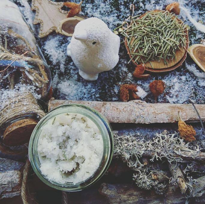 CORPS - Beurre de gommage aromatique Citron & Romarin