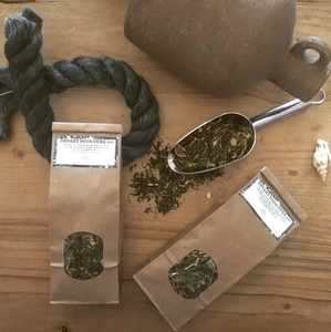 Sirop de thé citron menthe pour Mojito ou eau fraîche - Recette Le Tiroir aux Essences