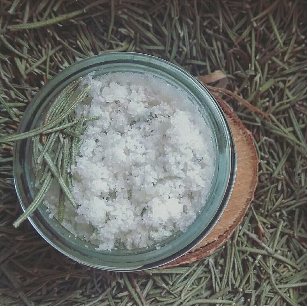 CORPS - Beurre de gommage aromatique Citron & Romarin - Inès LE TIROIR AUX ESSENCES