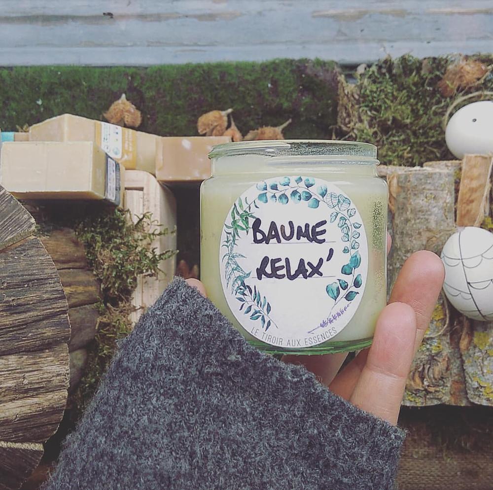 Baume aromatique fondant - LE TIROIR AUX ESSENCES - Inès