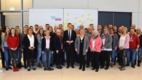 Schützenverein Glane in Berlin zu Gast