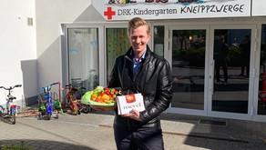 Seestern-Pauly besucht Bad Iburger Kindergarten am Tag der Kinderbetreuung