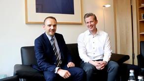 Wirtschaftsjunior begleitet Seestern-Pauly beim Know-How-Transfer