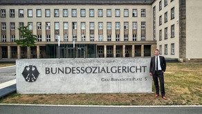 Beeck besucht Bundessozialgericht in Kassel