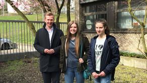 Schülerinnen begleiten Seestern-Pauly am Girls'Day
