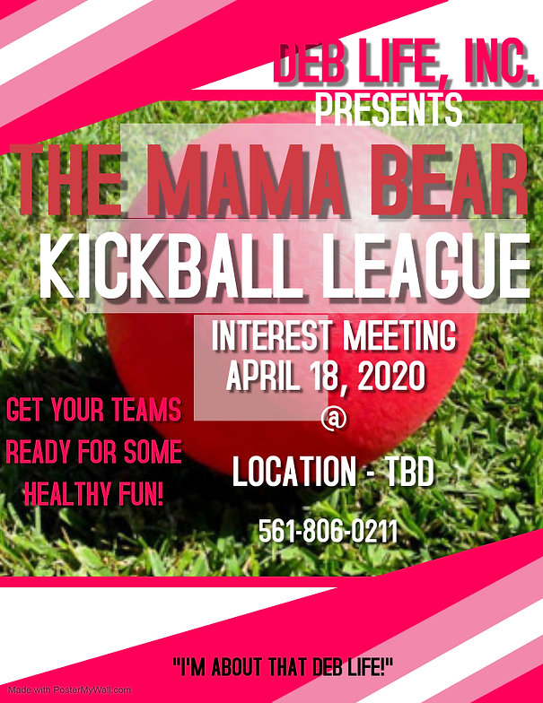 Copy of KICKBALL FLYER - Made with Poste