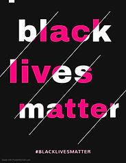 Copy of Black Lives Matter Bold Slogan F